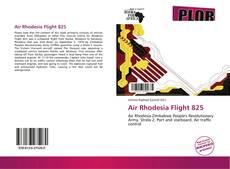 Bookcover of Air Rhodesia Flight 825