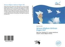 Обложка Ariana Afghan Airlines Flight 701