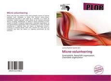 Buchcover von Micro-volunteering
