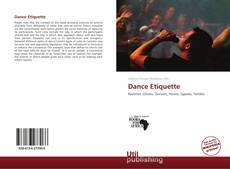 Bookcover of Dance Etiquette