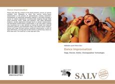 Bookcover of Dance Improvisation