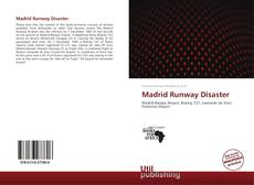 Copertina di Madrid Runway Disaster