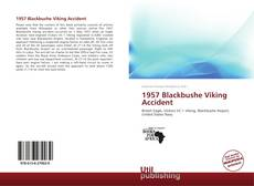 Portada del libro de 1957 Blackbushe Viking Accident