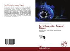 Buchcover von Royal Australian Corps of Signals