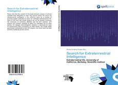 Bookcover of Search for Extraterrestrial Intelligence