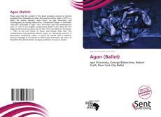 Bookcover of Agon (Ballet)