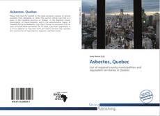 Asbestos, Quebec kitap kapağı