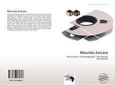 Couverture de Maurizio Zaccaro