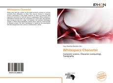 Bookcover of Whitespace Character