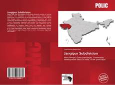 Bookcover of Jangipur Subdivision