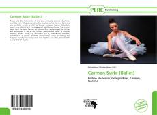 Buchcover von Carmen Suite (Ballet)