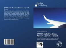 Bookcover of 1973 DeKalb-Peachtree Airport Learjet 24 Crash