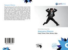 Bookcover of Haryanvi Dance