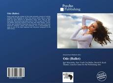 Bookcover of Ode (Ballet)