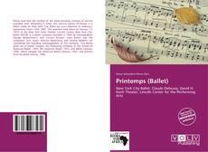 Bookcover of Printemps (Ballet)