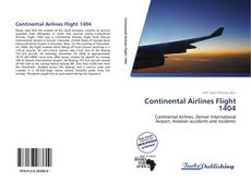Continental Airlines Flight 1404 kitap kapağı