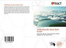 Bookcover of 1958 Dan-Air Avro York Crash
