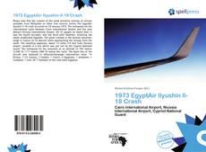 Buchcover von 1973 EgyptAir Ilyushin Il-18 Crash