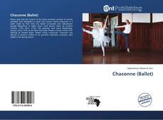 Bookcover of Chaconne (Ballet)