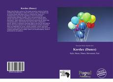 Capa do livro de Kordax (Dance)