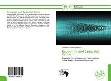 Capa do livro de Economic and Specialist Crime