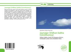 Buchcover von Jaynagar (Vidhan Sabha Constituency)