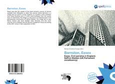Barnston, Essex kitap kapağı