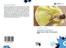 Capa do livro de Larissa Lezhnina