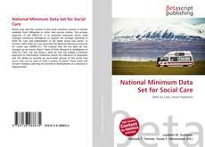 Copertina di National Minimum Data Set for Social Care
