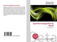 Borítókép a  Spanish Immigration to Brazil - hoz