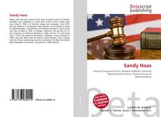 Bookcover of Sandy Haas