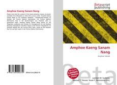 Bookcover of Amphoe Kaeng Sanam Nang