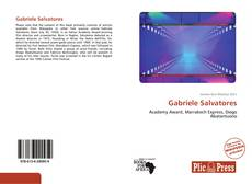 Bookcover of Gabriele Salvatores