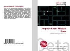 Bookcover of Amphoe Kham Khuean Kaeo