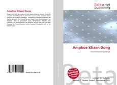 Bookcover of Amphoe Khaen Dong