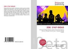 Portada del libro de ZOE: 2167 IDOLO