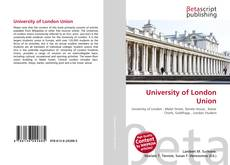University of London Union的封面