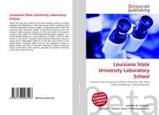 Bookcover of Louisiana State University Laboratory School
