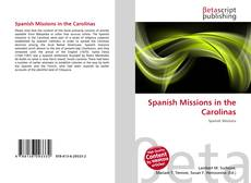 Bookcover of Spanish Missions in the Carolinas