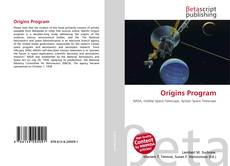 Origins Program kitap kapağı