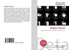 Origins Award kitap kapağı