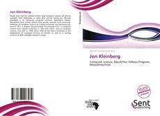 Bookcover of Jon Kleinberg