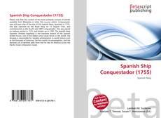 Spanish Ship Conquestador (1755) kitap kapağı