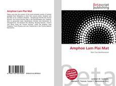 Bookcover of Amphoe Lam Plai Mat