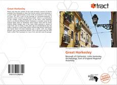 Bookcover of Great Horkesley
