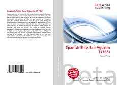 Bookcover of Spanish Ship San Agustín (1768)