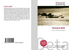 Bookcover of Orinoco Belt
