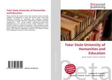 Bookcover of Tatar State University of Humanities and Education