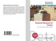 Bookcover of National Museum of Yemen