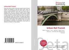 Bookcover of Urban Rail Transit